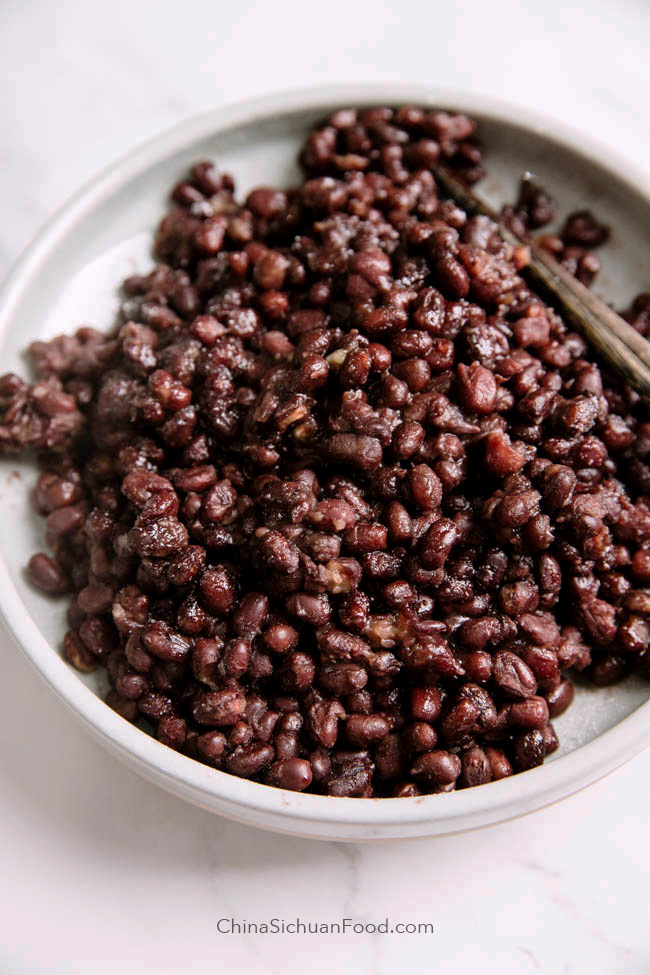 sweetened red beans|chinasichuanfood.com