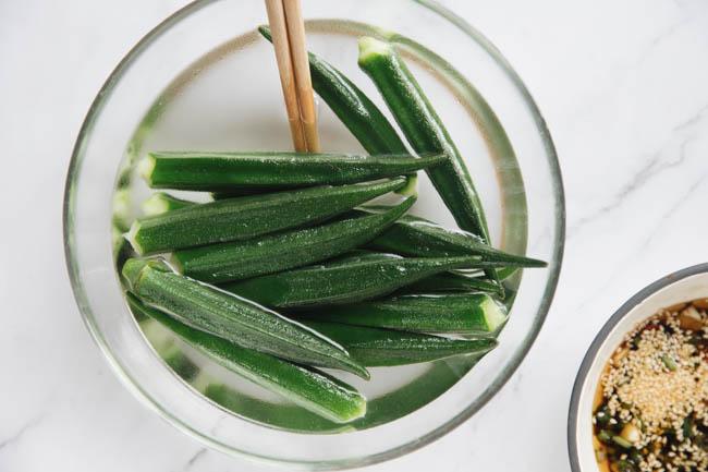 Okra salad|chinasichuanfood.com