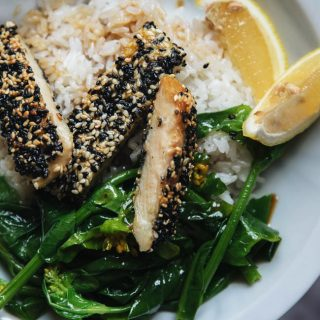 Sesame Crusted Chicken |chinasichuanfood.com