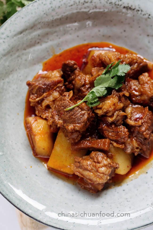 Sichuan braised beef|chinasichuanfood.com