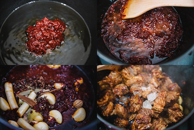 Sichuan braised beef step|chinasichuanfood.com