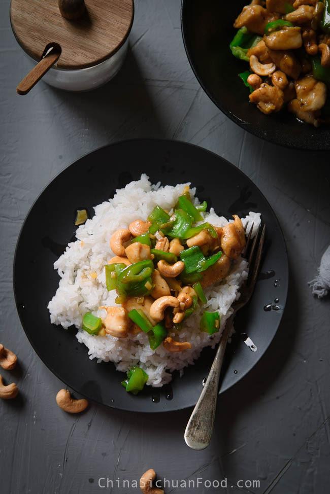 Chinese cashew chicken stir fry|chinasichuanfood.com