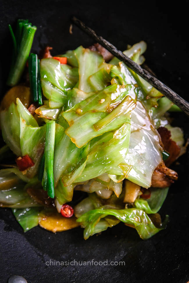 Dry Pot Cabbage |chinasichuanfood.com