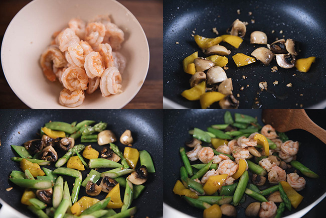shrimp and vegetable stir fry|chinasichuanfood.com