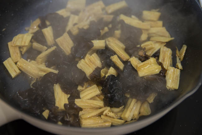 Tofu Skin Stir Fry |chinasichuanfood.com