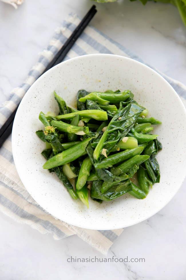 garlic Chinese broccoli