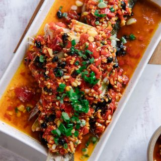 steamed fish with chili sauce|chinasichuanfood.com