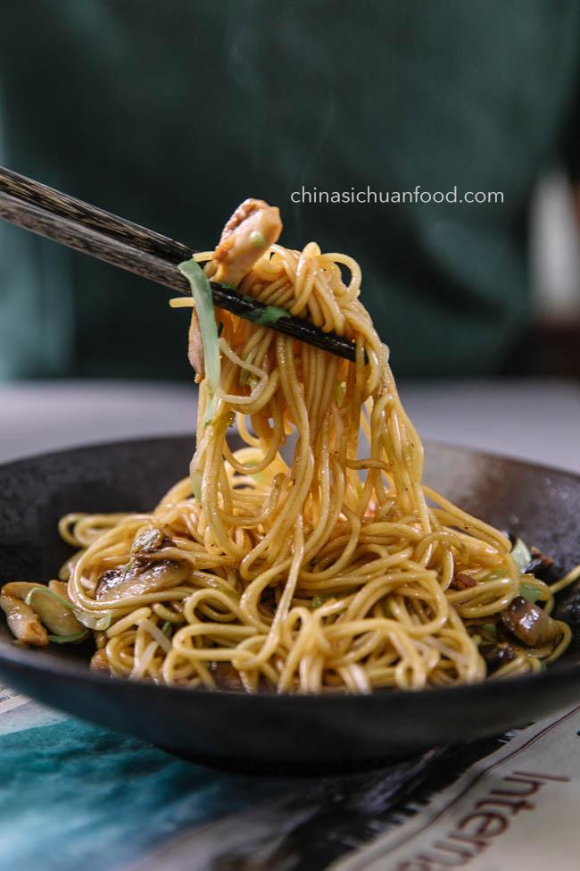 chicken chow mein|chinasichuanfood.com
