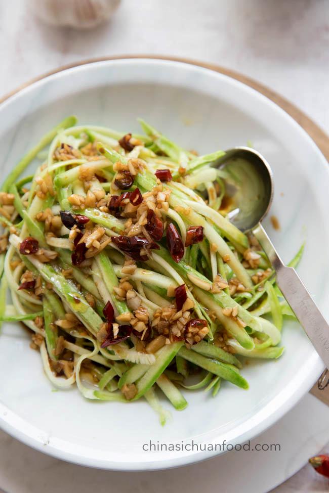 Zucchini Salad|chinasichuanfood.com