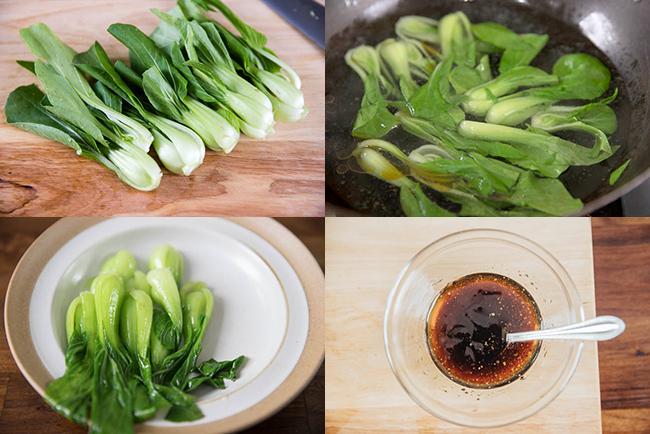 Braised Chinese Mushrooms|chinasichuanfood.com