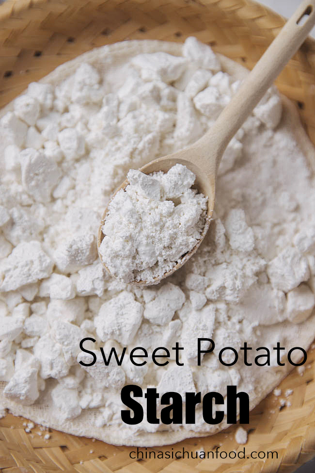 how to make sweet potato starch|chinasichuanfood.com