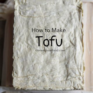 How to make tofu at home|chinasichuanfood.com