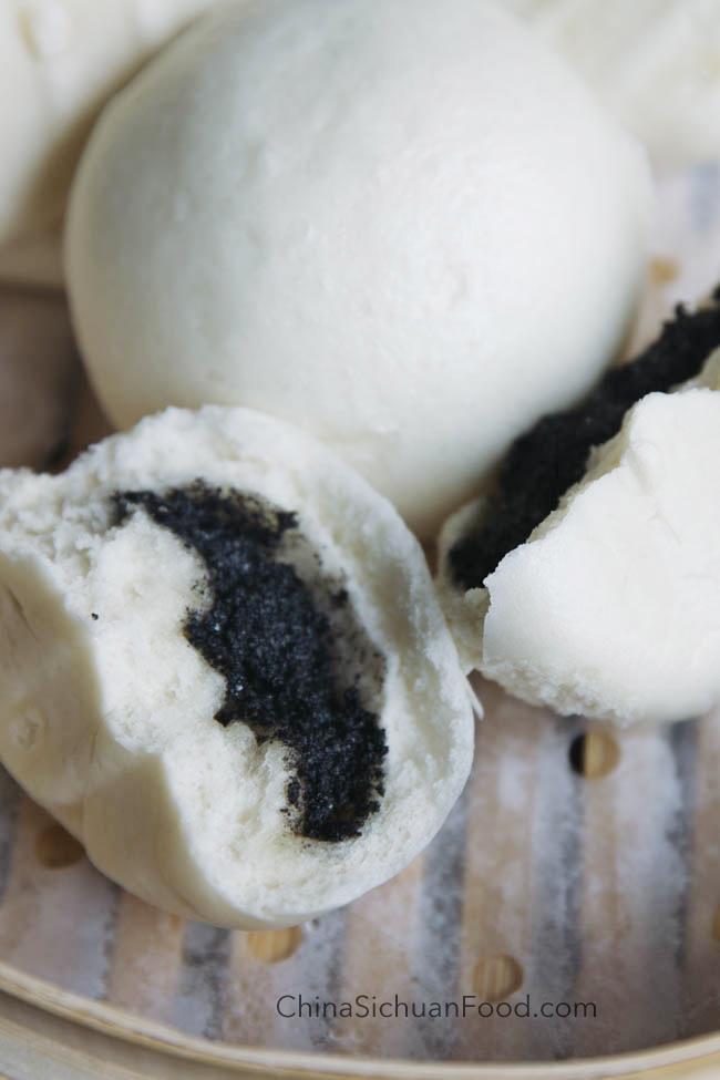 black sesame buns|chinasichuanfood.com