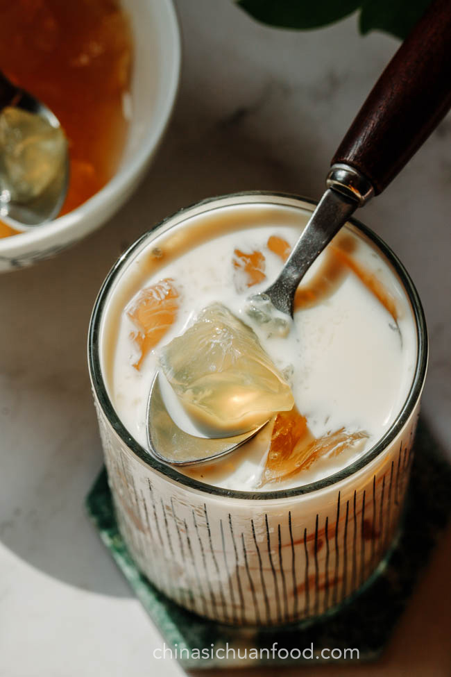 tea agar jelly|chinasichuanfood.com