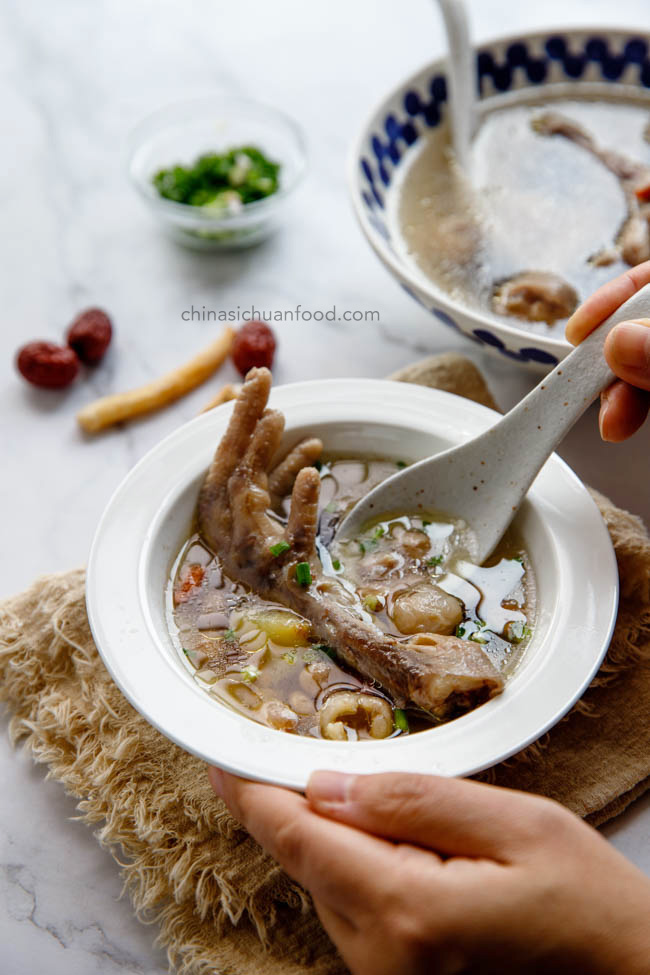 chicken feet soup|chinasichuanfood.com