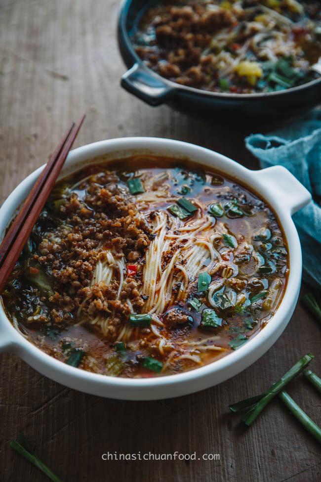 Yunan rice noodles|chinasichuanfood.com