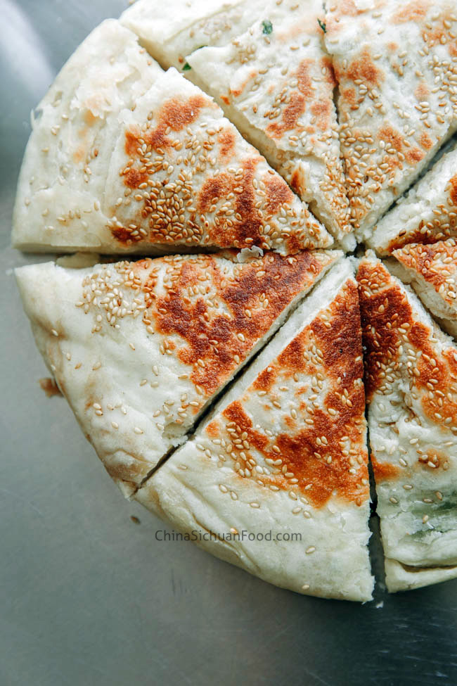scallion flat bread|chinasichuanfood.com