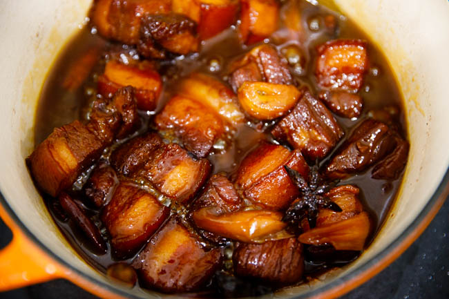 This image has an empty alt attribute; its file name is chairman-maos-red-braised-pork-belly-27.jpg