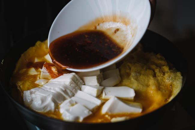 one pot egg and tofu|chinasichuanfood.com