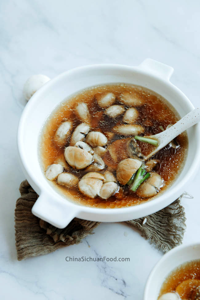Chinese button mushroom soup|chinasichuanfood.com