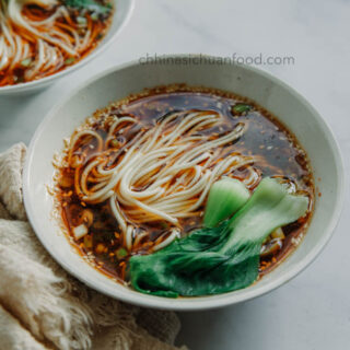 hot and sour noodles|chinasichuanfood.com